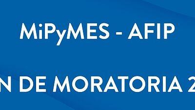 AFIP extendió hasta el 31 de agosto el plazo de inscripción a la moratoria impositiva para MiPymes y entidades civiles sin fines de lucro
