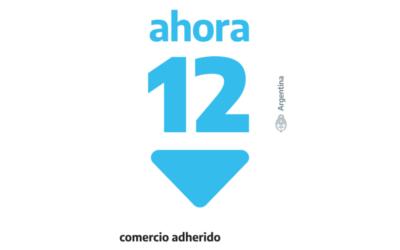 Nuevo logo del programa Ahora 12 para los comercios pymes