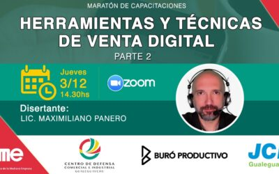 Capacitación:  Herramientas y técnicas de venta digital