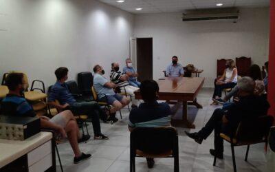 Comercio y Turismo mantuvieron un encuentro con autoridades municipales y de Salud