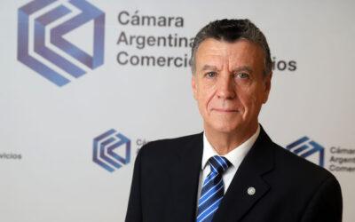 Entrevista al Presidente de la Cámara Argentina de Comercio y Servicios