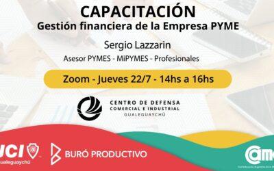 CAPACITACIÓN: Gestión Financiera de la empresa PYME